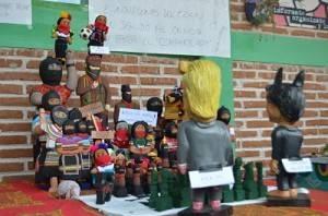 Intervención artística del EZLN durante la asamblea