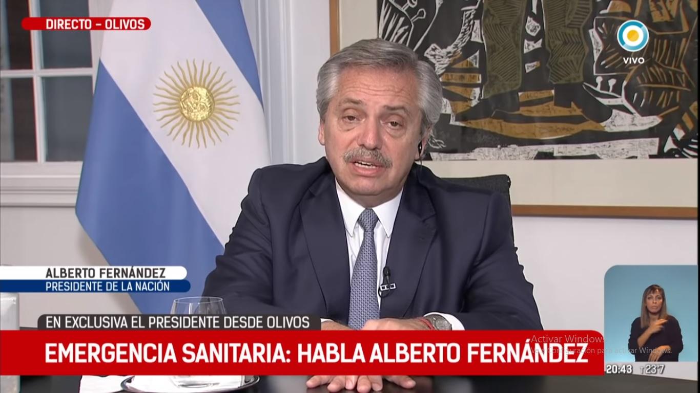 """Alberto Fernández: """"Tenemos que revisar cómo funciona el mundo y generar un sistema más igualitario"""""""